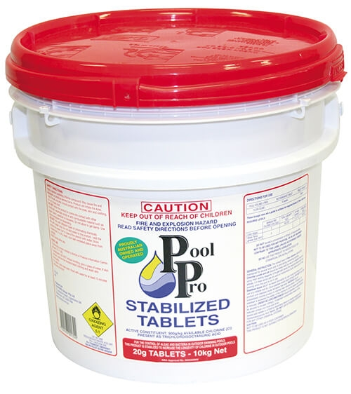 Stabilized Tablets